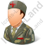 Army Nurse Male Light Icon, PNG/ICO, 64x64