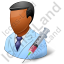 Immunologist Male Dark Icon