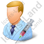 Immunologist Male Light Icon