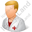 Nurse Male Light Icon