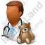 Pediatrician Male Dark Icon