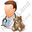 Pediatrician Male Light Icon