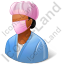 Surgeon Female Dark Icon