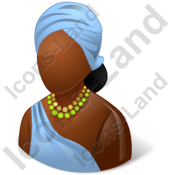 African Female Icon