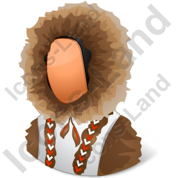 Eskimo Female Icon