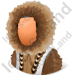 Eskimo Male Icon