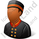 Bellboy Male Dark Icon