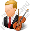 Musician Male Light Icon