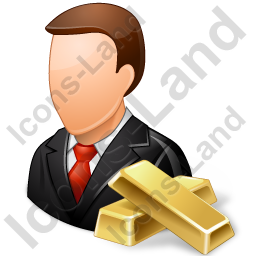 Banker Male Light Icon