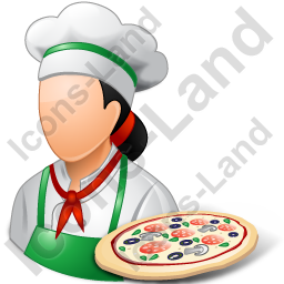Chef Pizza Female Light Icon Png Ico Icons 256x256 128x128 64x64 48x48 32x32 24x24 16x16