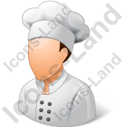 Chef Male Light Icon
