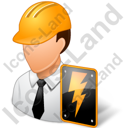 Electrical Engineer Male Light Icon