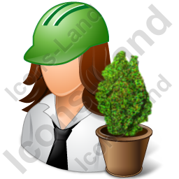 Environmental Engineer Female Light Icon