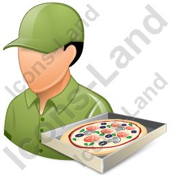 Pizza Deliveryman Male Light Icon Png Ico Icons 256x256 128x128 64x64 48x48 32x32 24x24 16x16