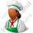 Cook Female Dark Icon