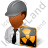 Nuclear Engineer Male Dark Icon