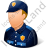 Police Officer Male Light Icon, PNG/ICO, 48x48