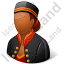 Bellboy Female Dark Icon