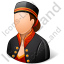 Bellboy Female Light Icon
