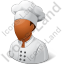 Chef Male Dark Icon