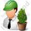Environmental Engineer Male Light Icon