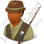 Fisherman Male Dark Icon