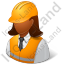Foreman Female Dark Icon