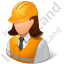 Foreman Female Light Icon