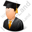 Graduate Male Light Icon