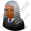 Judge Male Dark Icon