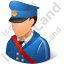 Mail Carrier Male Light Icon