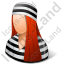 Prisoner Female Light Icon