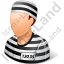 Prisoner Male Light Icon