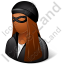 Robber Female Dark Icon