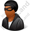 Robber Male Dark Icon