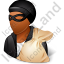 Thief Male Dark Icon