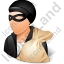 Thief Male Light Icon