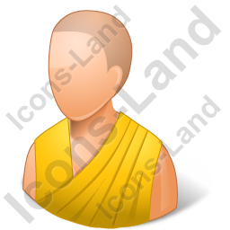 Bhikkhuni Yellow Robe Icon
