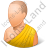 Bhikkhu Yellow Robe Icon
