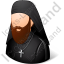 Orthodox Christian Monk Icon