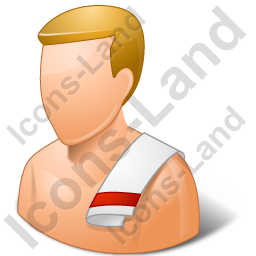 Person Swimwear Male Light Icon