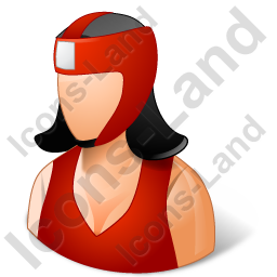 Boxer Female Light Icon