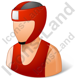 Boxer Male Light Icon