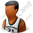 Basketball Player Male Dark Icon