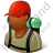 Hiker Male Dark Icon