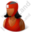 Boxer Female Dark Icon