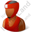 Boxer Male Dark Icon