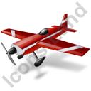 Air Racing Aircraft Icon, PNG/ICO, 128x128