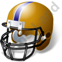American Football Helmet Icon, PNG/ICO, 128x128