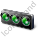 Auto Racing Start Lights Icon